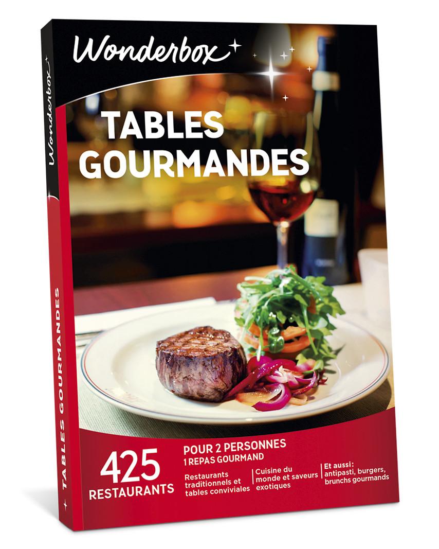 Coffret cadeau tables gourmandes wonderbox - Wonderbox tables gourmandes ...