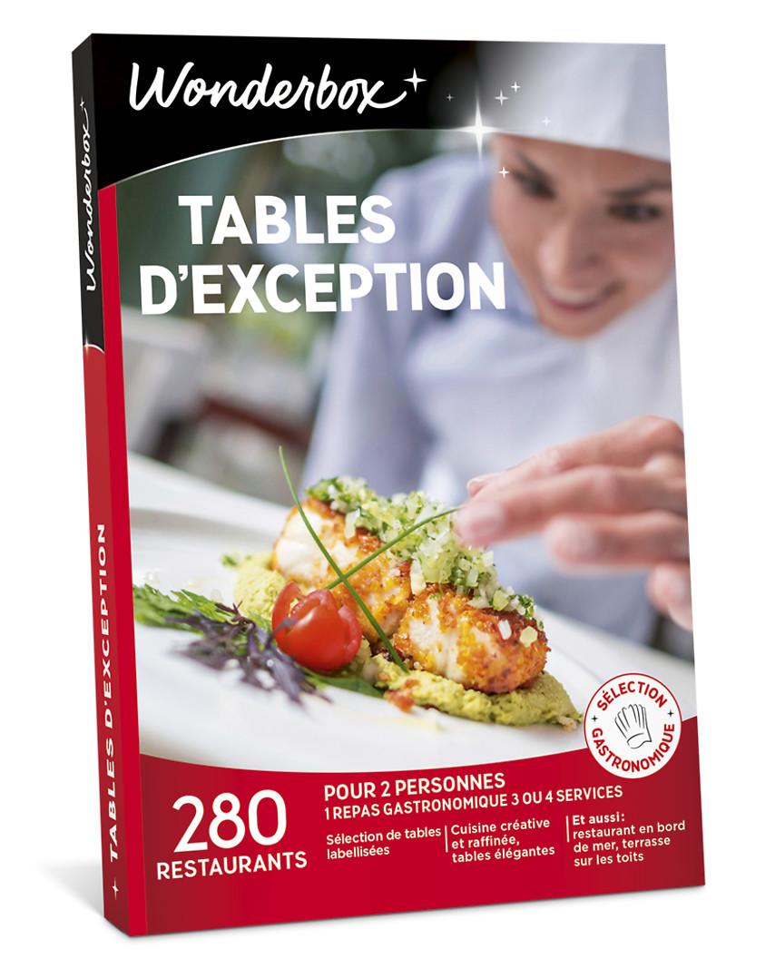Coffret Cadeau Tables D Exception Wonderbox